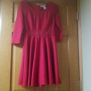 Size Medium Red Dress American Rag